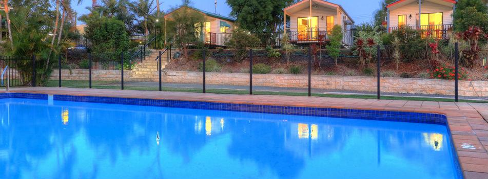 Accommodation Maryborough : Wallace Motel & Caravan Park